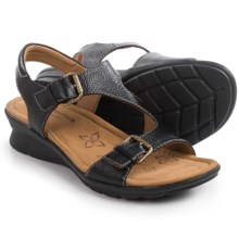 Comfortiva Kay Sandals (For Women) in Black - Closeouts
