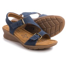 Comfortiva Kay Sandals (For Women) in Denim Nubuck - Closeouts