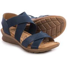 Comfortiva Keagan Sandals (For Women) in Spring Indigo - Closeouts
