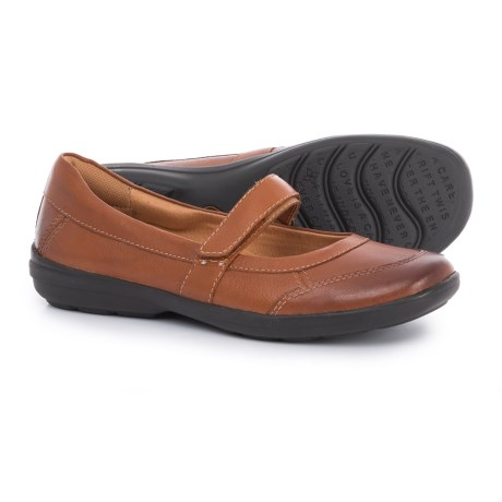 Comfortiva Roma Mary Jane Shoes - Leather (For Women) in Tan
