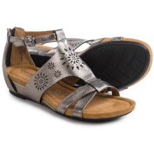 Comfortiva Saco Sandals (For Women) in Anthracite - Closeouts