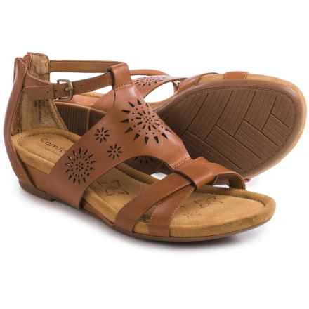 Comfortiva Saco Sandals (For Women) in Luggage - Closeouts