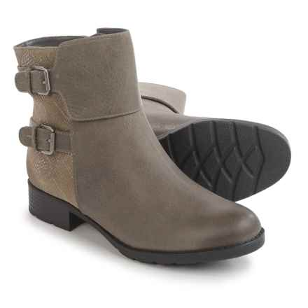 Comfortiva Vardel Ankle Boots - Suede (For Women) in Snare Grey/Grey - Closeouts