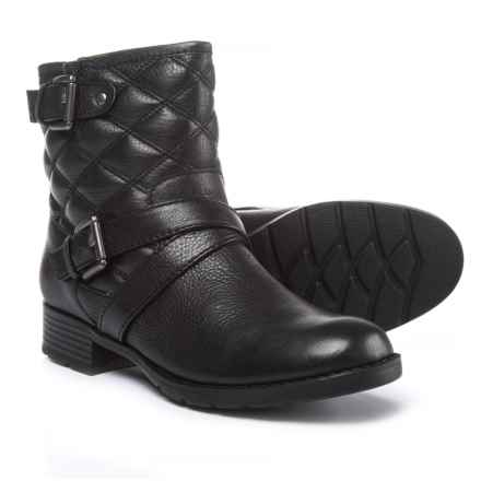 Comfortiva Vestry Boots - Leather (For Women) in Black - Closeouts
