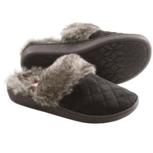Comfy by Daniel Green Chelsee Slippers (For Women) in Black - Closeouts