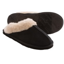 Comfy by Daniel Green Karly Slippers (For Women) in Black - Closeouts