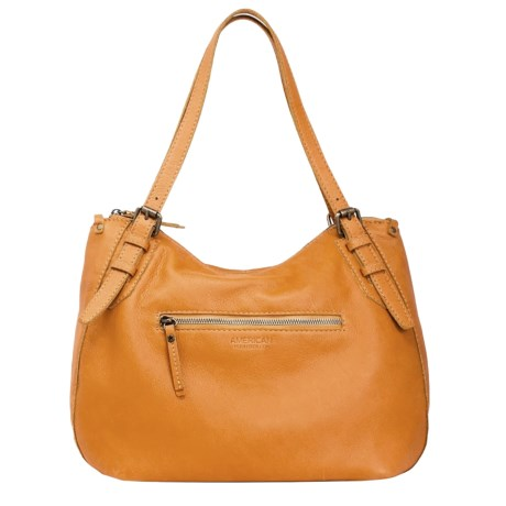 Image of Commack Leather Shopper Bag (For Women)