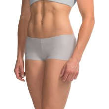 Commando Seamless Jersey Panties - Boy Shorts (For Women) in Dove - Overstock