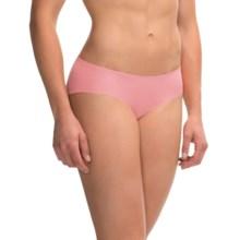 Commando Seamless Panties - Bikini Briefs, Stretch Cotton (For Women) in Pink - Overstock