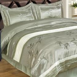 Commonwealth Home Fashions Charleston Comforter Set - King, 4-Piece in Multi