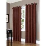 "Commonwealth Home Fashions Garbo Herringbone Curtains - 63"", Grommet-Top"