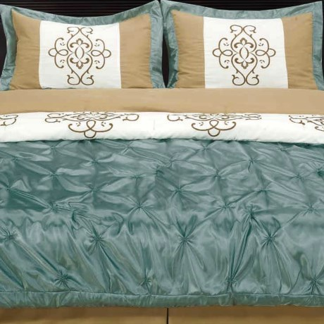 Commonwealth Home Fashions Westfield Comforter Set - King, 4-Piece in Sage