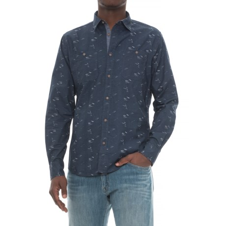 Company 81 Hubble Shirt - Long Sleeve (For Men) in Navy