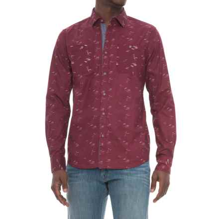 Company 81 Hubble Shirt - Long Sleeve (For Men) in Zinfandel - Closeouts