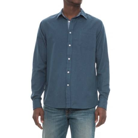 Company 81 Space Shirt - Long Sleeve (For Men) in Mid Blue