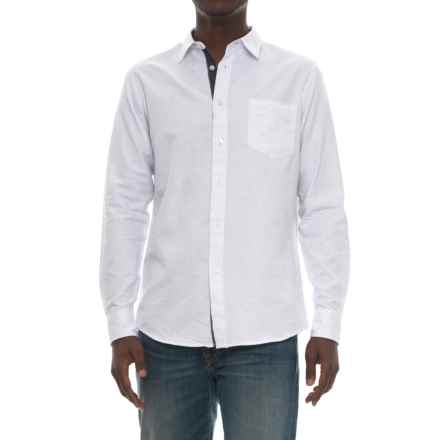 Company 81 Space Shirt - Long Sleeve (For Men) in White - Closeouts