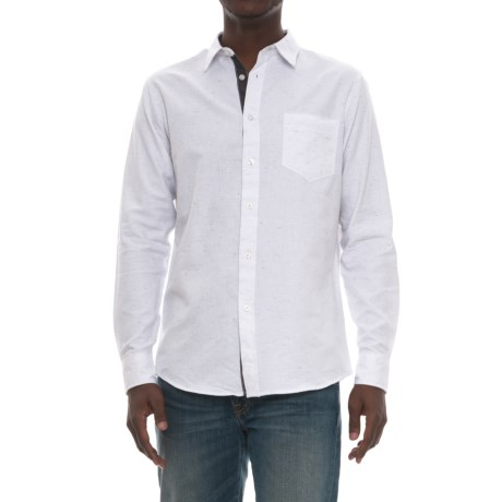 Company 81 Space Shirt - Long Sleeve (For Men) in White