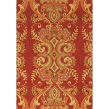 Company C Patterned Accent Rug - 3x5' in Adele Poppy - Closeouts