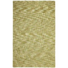 Company C Patterned Area Rug - 8x10', Tufted Wool in Tweedy Willow - Closeouts