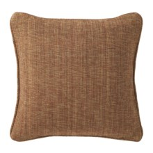 "Company C Vista Cotton Decor Pillow - 18x18"" in Walnut - Closeouts"
