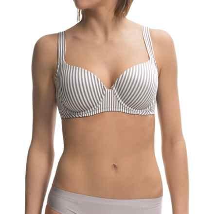 Company Ellen Tracy Full Coverage T-Shirt Bra - Underwire (For Women) in Titan Stripe - Closeouts
