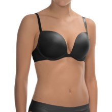 Company Ellen Tracy Radiant Elegance Convertible Plunge Bra - Underwire, Molded Cups (For Women) in Black - Overstock