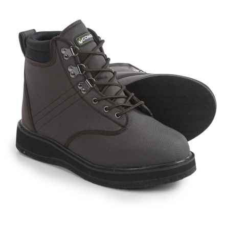 Compass 360 Stillwater Wading Boots - Felt Outsole (For Men) in Brown - Overstock