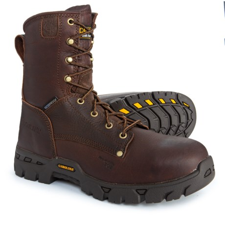 Image of Composite Toe Work Boots - Waterproof, 8? (For Men)