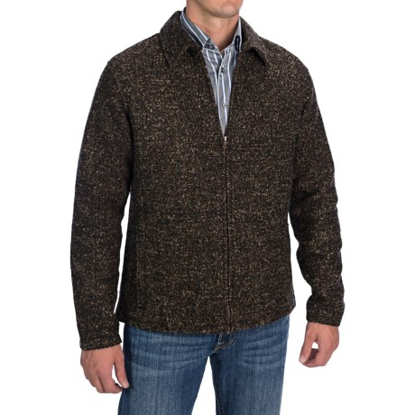 Comstock and Co. Boucle Jacket - Wool Blend, Elbow Patches (For Men) in Brown