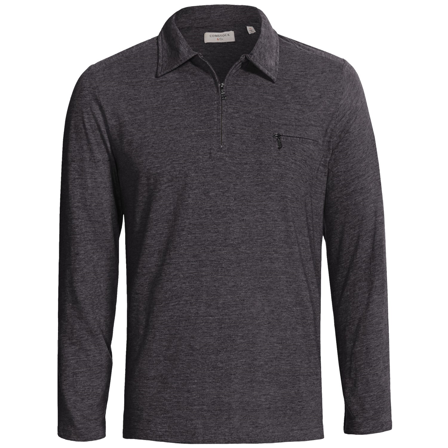 Mens knitted long sleeve polo shirts for Polo shirts long sleeve men