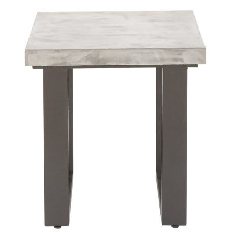 Image of Concrete Top End Table