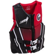 Connelly Classic Hinge Neoprene PFD Life Jacket - Type III (For Men) in Red - Closeouts