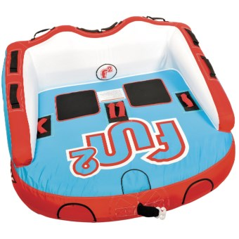 Connelly Fun 2 Towable Tube - 2-Person in Blue/Red