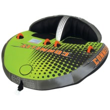 Connelly Orbiter 2 Towable Tube - 2-Person in Green - Closeouts