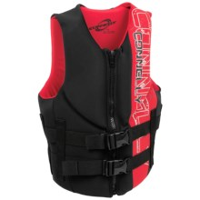 Connelly Teen PFD Life Jacket - Type III in Black/Red - Closeouts