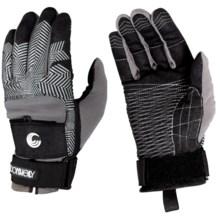 Connelly Vortex Watersport Gloves in Black/Silver - Closeouts