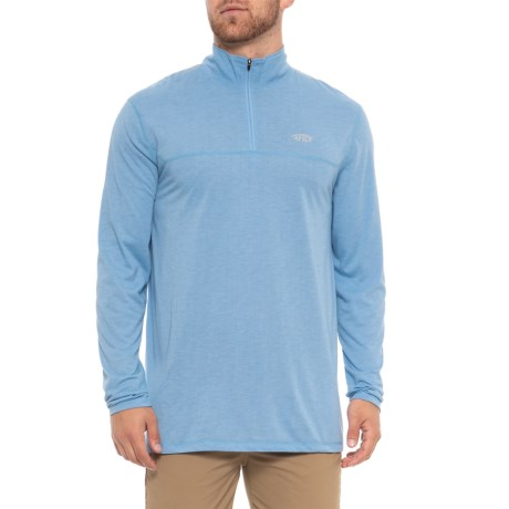 Image of Connery Zip Neck Shirt - UPF 40, Long Sleeve (For Men)
