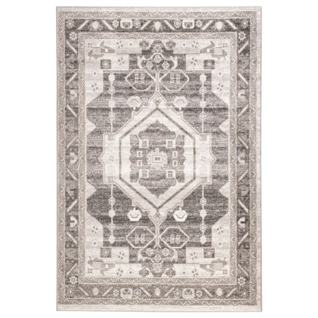 Image of Contemporary Medallion Area Rug - 5x7? Stone-Magnet