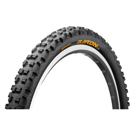 "Continental Der Baron Projekt ProTection Apex + BlackChili Mountain Bike Tire- 27.5x2.4"", Folding in See Photo - Closeouts"