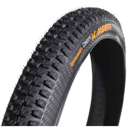 "Continental Der Kaiser Projekt Fold ProTection Apex + BlackChili Mountain Bike Tire - 29x2.4"" in See Photo - Closeouts"