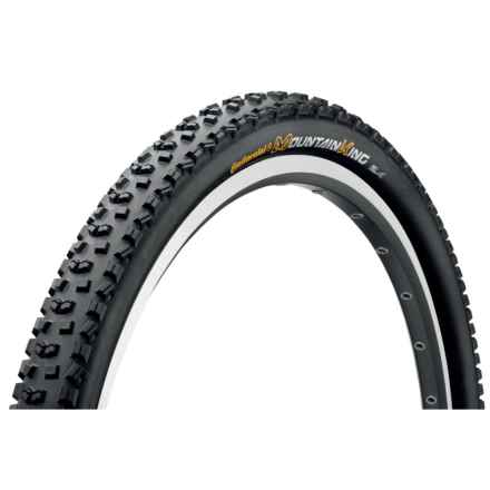 "Continental Mountain King II ProTection + BlackChili Mountain Bike Tire - 27.5x2.4"", Folding in See Photo - Closeouts"