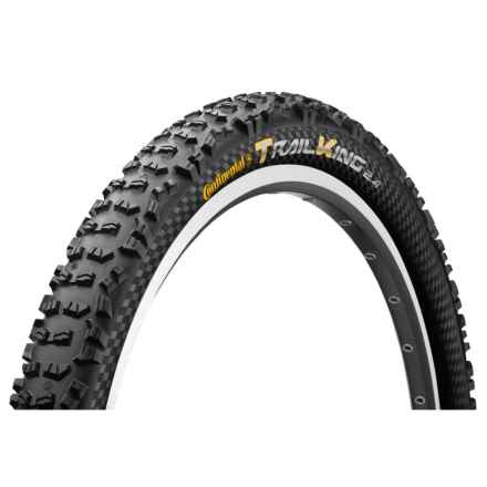 "Continental Trail King ProTection Apex + BlackChili Mountain Bike Tire- 27.5x2.4"", Folding in See Photo - Closeouts"