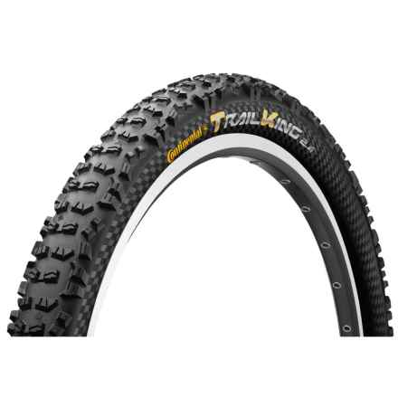 "Continental Trail King ProTection Apex + BlackChili Mountain Bike Tire - 29x2.4"", Folding in See Photo - Closeouts"