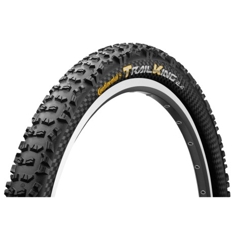 """Continental Trail King ProTection Apex + BlackChili Mountain Bike Tire - 29x2.4"""", Folding in See Photo"""