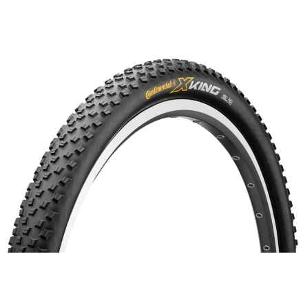 "Continental X-King ProTection + BlackChili Mountain Bike Tire - 27.5x2.2"", Folding in See Photo - Closeouts"