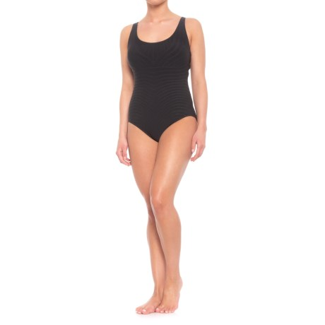 Image of Contours Classic Cut One-Piece Swimsuit (For Women)