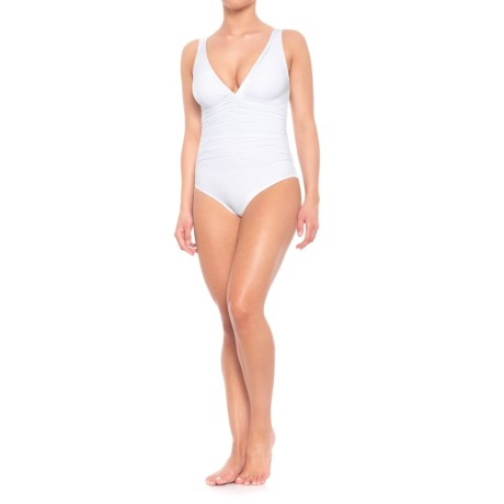 Image of Contours Solitaire One-Piece Swimsuit - Underwire (For Women)