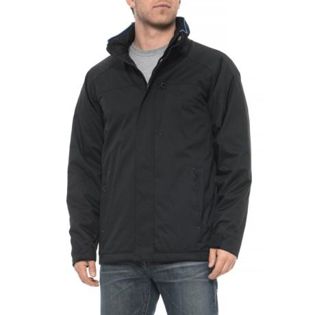 Image of Contrast Polar Fleece-Lined Jacket (For Men)