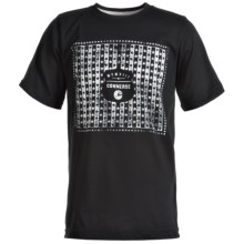 Converse Graphic T-Shirt - Short Sleeve (For Big Boys) in Black - Closeouts