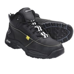 Converse High-Impact Hiker Boots - Steel Toe, Internal Met Guard (For Men) in Black